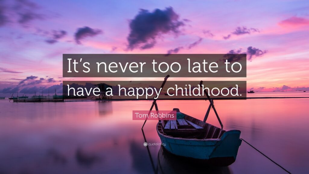 It Is Never Too Late To Have A Happy Childhood – Breaking the Cycle: The Role of Auntie Rosie in Childhood Trauma Informed Care www.amazon.com/Breaking-Cycle-Auntie-Childhood-Informed/dp/1091300917/